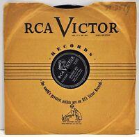 "EDDIE ""PIANO"" MILLER  ""Saturday Rag / Lonely Wine""  78 RPM  RCA  Victor 20-4695"