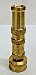 NEW! GILMOUR Twist;Water Nozzle Twist Flow Control;60 psi,Brass 852812-1001
