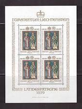 Lichtenstein Mi.Nr.4x734 im Klbg.** Postfrisch----Landespatrone----ca.75 M€--243
