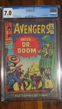 Avengers #25  Feb 1966  CGC 7.0  White Pages