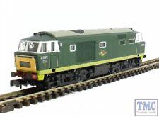 2D-018-005 Dapol N Gauge BR Hymek D7072 Two Tone Green (Unpowered)
