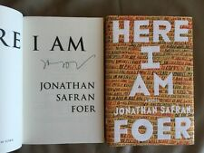 Jonathan Safran Foer 'I Am Here' 1/1 + great extras