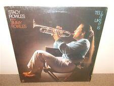* Stacy & Jimmy Rowles .Tell It Like It Is . Concord Jazz 249 . Shrink Wrap . LP