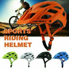 Adult Cycling Safety Helmet Mountain Bike Ride Sports Adjustable Helmet uk hot