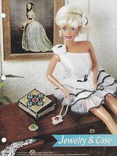 Jewelry & Case, Annie's Fashion Doll Plastic Canvas Pattern Leaflet FP30-03