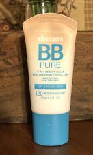 Maybelline Dream Pure BB Cream 8-in-1 Beauty 120 Medium Sheer Tint 1.0 fl oz NEW