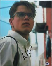 Matt Damon Signed The Talented Mr. Ripley Autographed 11x14 Photo Psa/Dna J03230
