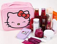 Hellokitty Waterproof Travel Cosmetic bag make up bag Case LM-0214-4