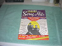 1964 Song Hits Magazine - Beatlemania Photos & Article +The Beatles Tour Listing