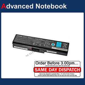 Genuine Toshiba Satellite L750 L750D L755D L730 L735 Laptop Battery PA3817U-1BRS