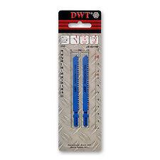 DWT 2 x HSS Stichsägeblätter 75 mm zum Sägen von Aluminiumstücken JS-A3-100