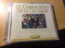 Les Compagnons De La Chanson SEALED cd Gold versions originales