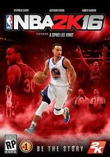 NBA 2K16  --  Microsoft Xbox 360 Game Complete w/ Case * Stephen Curry Cover