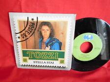 UMBERTO TOZZI Lotto di 6 dischi 45rpm 7' + PS 1970/1980 ITALY da VG a EX