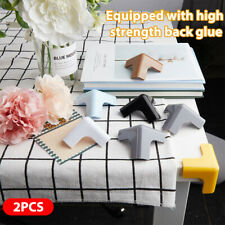 2PCS Safety Silicone Protector Table Corner Protection Cover Anticollis_cd