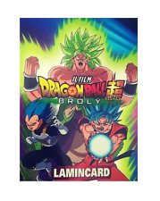 Dragon Ball Super Broly Lamincards Mazzo Deck Diramix