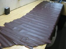 Coco Brown Upholstery Leather 23.50 Sq. Ft.  GREAT GRAIN  4 to 5 oz.