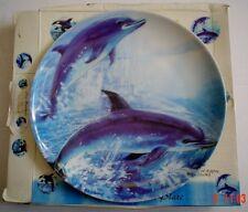 Regency Fine Arts Collectors Plate DOLPHINS