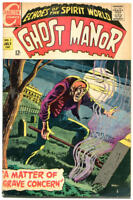 GHOST MANOR #1, VG+, Grave concern, Horror, 1968, more Charlton in store