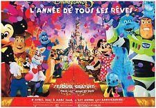 Publicité Advertising 2007 (2 pages) Disneyland Resort Paris 15 ans