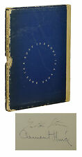 The World is Round ~ GERTRUDE STEIN ~ Signed Limited First Edition ~ 1st 1939