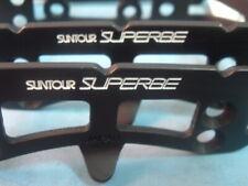 SunTour Superbe Pro Road Pedal Cages- NEW / NOS- Vintage- Mint- NIB++
