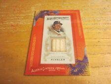 Ian Kinsler 2010 Topps Allen and Ginter Relics #IK Bat Card MLB Texas Rangers
