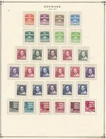Denmark stamps (only), small collection of 30, 1981-85, Mint & used, SCV $55