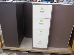 STEEL FILING CABINETS 4 DRAWER CABINET