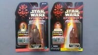 Star Wars Episode 1 TPM Mace Windu & Anakin Skywalker Naboo action figure lot