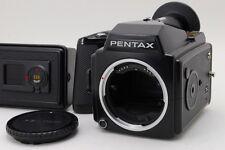 【Near Mint】Pentax 645 Medium Format Body  w/ 120 & 220 Film back From Japan #128