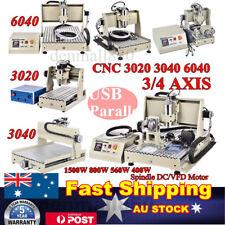 4Axis 6090 6040 CNC ROUTER USB port ENGRAVER DESKTOP MILLING DRILLING MACHINE AU