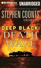 DEEP BLACK DEATH WAVE unabridged audio book on CD by STEPHEN COONTS - Brand New!