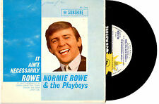 """NORMIE ROWE - IT AIN'T NECESSARILY ROWE - RARE EP 7""""45 VINYL RECORD PIC SLV 1965"""