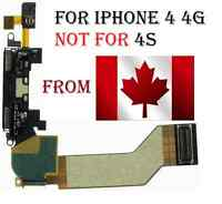 iPhone 4 4g Dock connector charger charging flex cable data port repair part mic