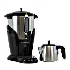 Samowar elektrischer Teezubereiter Teekanne Edelstahl 2,5 L Semaver Teekocher