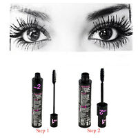 Women Long Curling Makeup Eyelash Black Waterproof Fiber Mascara Eye Lashes HOT