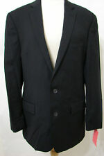 JIM BREWSKY Jacket Comedian Worn Black 2 Button Wool 42 Orig $400