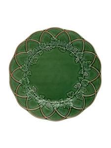 Woods - Fruit Plate 24 Green/Brown - Bordallo Pinheiro NEW COLLECTION
