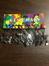 Vintage Erotic Risque Adult Moving Keychain Lot Of 12 Wholesale
