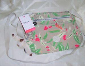 Kipling Mayrose Cross Body Small Bag Flower Pattern BNWT Ape Katrien Means Pure