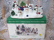 International Bazaar Ho! Ho! Ho! Christmas WaterGlobe