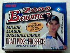 2000 Bowman Baseball Draft Picks & Prospects Update Set Hobby Auto Per Set
