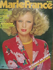 ▬►Marie France 289 de 1980 Mode Vintage Salvador DALI