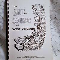 Morgantown West Virginia Cookbook NEHA Mountain Echo Chapter Vintage 1975 Spiral