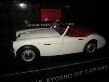 1:18 Kyosho Austin Healey 3000 MK I WHITE/BLANC Nº 08141 W en NEUF dans sa boîte