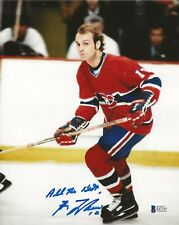 Guy Lafleur REAL hand SIGNED Photo #3 BAS COA NHL Hockey Stanley Cup