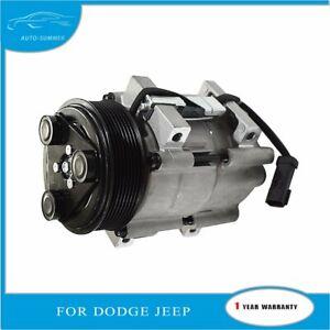A/C Compressor for 2006-2010 Dodge Ram 2500 3500 5.9L 6.7L 408Cu Diesel
