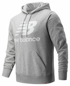 New Balance Essentials Stacked Logo Po Hoodie Men's Top Lifestyle