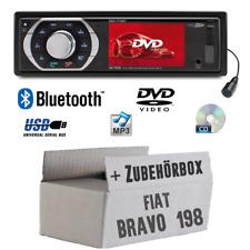 Caliber Autoradio für Fiat Bravo 198 SD TFT Bluetooth DVD CD MP3 USB Radio Set